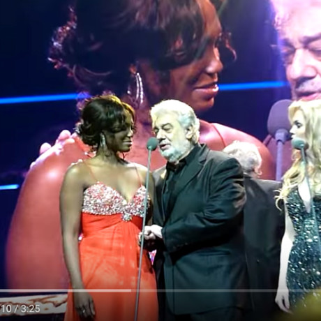 "Placido Domingo – ""If I loved you"" with Angel Joy Blue and Micaëla Oeste"